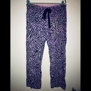 PINK Victoria's Secret Intimates & Sleepwear - PINK Victoria's Secret sleep pajama pants zebra
